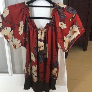 Floral silky